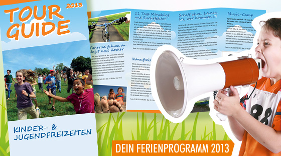 Tourguide 2013 - Ferienfreizeiten Rems-Murr-Kreis