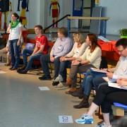 Diskussionsteilnehmer bei der Zukunftskonferenz Schorndorf