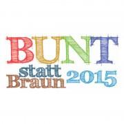 Bunt Statt Braun 2015 - Logo