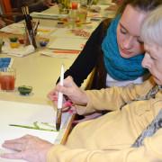 Wertevermittlung zwischen Kunst und Demenz